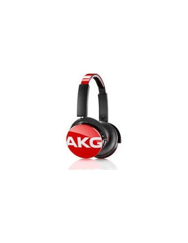 AKG Y50  Headset Red